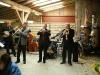 Jazz-Band beim Whiskyanlass