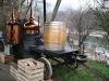 die Pot-Still Brennerei auf der Aareinsel